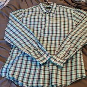 Men's long sleeve button down